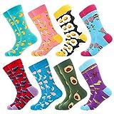Men's Funny Dress Socks ,Fun Colorful Socks ,Crazy