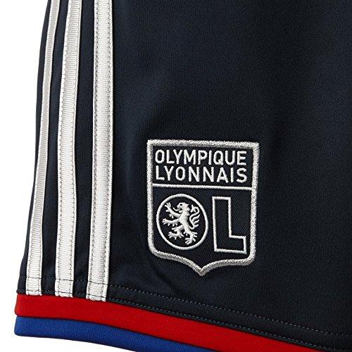 Foot Enfant Adidas De Lyon Noir Lyonnais Short Olympique Ol Football Rq78I