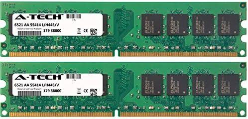 DIMM DDR2 Non-ECC PC2-6400 800MHz RAM Memory for Dell Inspiron Desktop Series 545 545s 546 546s I530-120B 8GB KIT 2 x 4GB Genuine A-Tech Brand.