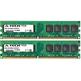 A-Tech 4GB KIT 2x 2GB For Dell Optiplex Series 210L 210Ln 320 740 Desktop and Mini-Tower 745 Desktop MiniTower Small Form Factor 745 DIMM DDR2 NON-ECC 533MHz RAM Memory