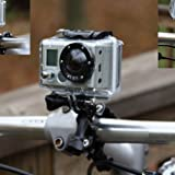 HuntGold Bicycle Bike Handlebar Seatpost Pole Mount Holder for Camera Gopro Hero 3+3/2/1