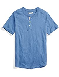 Men's Short-Sleeve Lightweight Slub Henley