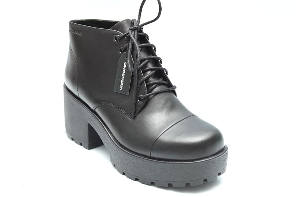 6967cf08113 Vagabond Dioon Womens Leather Lace Up Platform Ankle Boots Size UK 3 ...