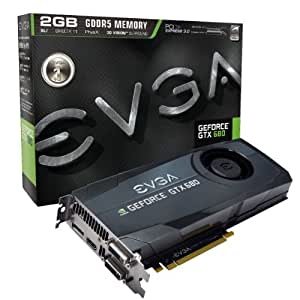EVGA GeForce GTX 680 2048MB GDDR5, DVI, DVI-D, HDMI, DisplayPort, 4-way SLI Ready Graphics Card Graphics Cards 02G-P4-2680-KR