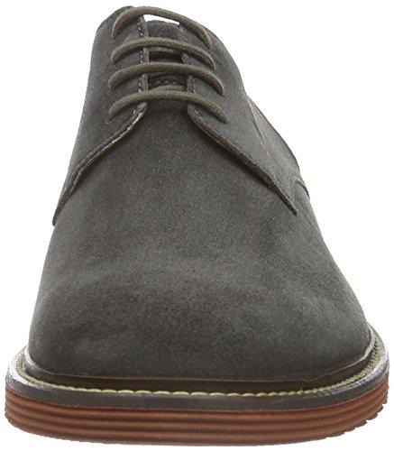 Sioux Birgo, Zapatos de Cordones Derby para Hombre Gris (Asphalt)