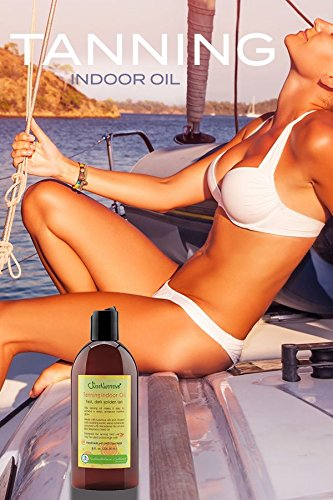 Tanning Indoor Oil | Best Tanning Bed Oil | Get Your Tan Darker and Faster | Pure Nutritive Oils Moisturize Your Skin Better by Just Nutritive (Image #4)