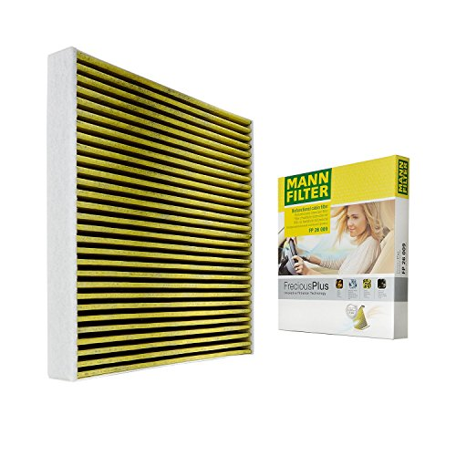 Cabin Blocks (Mann-Filter FP 26 009 Frecious Plus Cabin Air Filter)