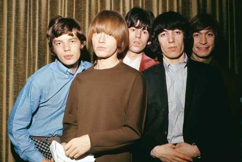 The Rolling Stones Mick Jagger Brian Jones Keith Richards