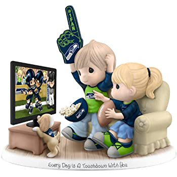 amazon com figurine precious moments every day is a touchdown with