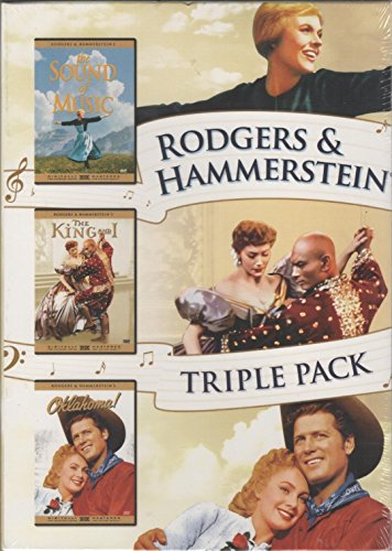 Rodgers & Hammerstein Triple Pack, Sound of Music, the King and I, Oklahoma