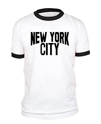 Amazon.com  The Goozler York City Photo NYC Retro - Ringer T-Shirt ... 99e1d5dfeac