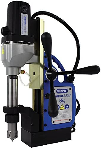 Champion Cutting Tool RotoBrute AC35 MiniBrute Lightweight Portable Magnetic Drill Press: Up to 1-3/8 Diamater 2 Depth of Cut