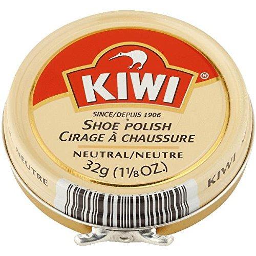 KIWI Shoe Polish Neutral, 1.125 OZ Mens Polish