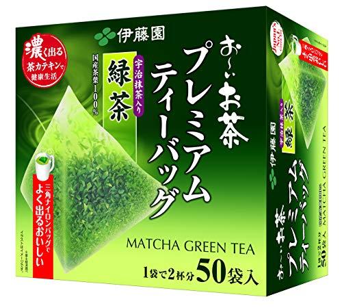 ITOEN bolsa de te premium de te que contiene el te verde 50 bolsas