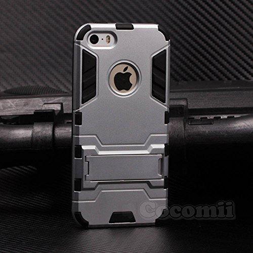 Cocomii Iron Man Armor iPhone SE/5S/5C/5 Case NEW [Heavy Duty] Premium...