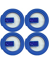 Want Pyrex 7200-NLC Blue No-Leak Vented Round Storage Lid Cover for 2 Cup Bowl (4-Pack) wholesale
