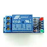 2 X 5V 1-Channel Relay Module With Optocoupler Low Level Trigger for Arduino