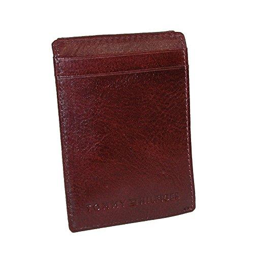 tommy-hilfiger-mens-york-slimmagnetic-front-pocket-wallet-tan-one-size