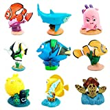 Amakunft Finding Dory, Nemo Aquarium Decorations, Resin Fish Tank Ornaments Disney Cartoon Movies Clownfish Toys Gifts Children
