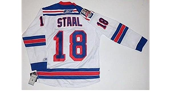 finest selection b8725 d4685 Marc Staal Signed Jersey - 85th Anniversary Reebok Premier ...