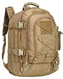 XWLSPORT Military Tactical Assault Backpack Tactical Sling Bag Pack for Outdoor Hiking Camping Hunting School Etc (Tan)