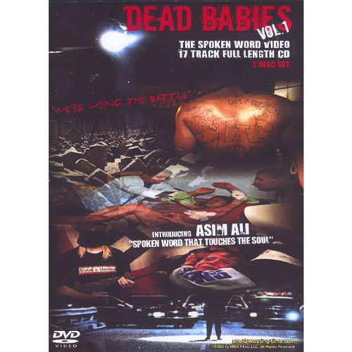 Dead Babies Vol #1 The Spoken Word Cd/Dvd 2 Disc Set By