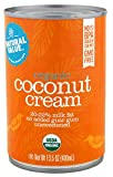 Natural Value Organic Coconut Cream, 13.5oz (Pack of 12)
