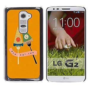 Dragon Case - FOR LG G2 - timely to leave - Caja protectora de pl??stico duro de la cubierta Dise?¡Ào Slim Fit