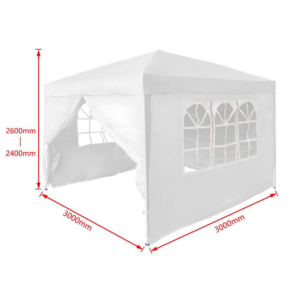 AUFUN Tonnelle Pliante Protection UV /– Tonnelle de Jardin Tente de ...