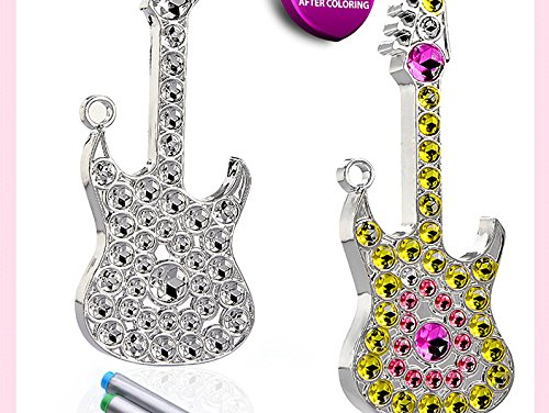 Diy Kids' Education Toy 7.5 Inch Pop Art Painted Jewelry Diy Toys -Do It Yourself Wear (Music Star Collection)