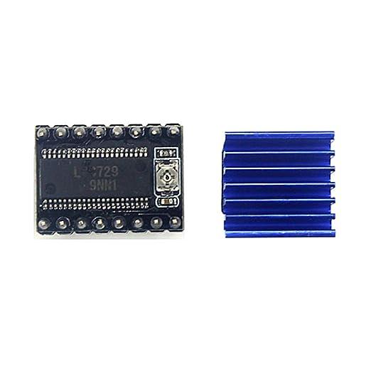 KKmoon Accesorios de la placa base de la impresora 3D LV8729 128 ...