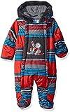 Wippette Baby Boys Snowsuit Pram, Striped red, 6/9M