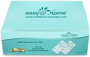 150 Pack - Easy@Home 5 Panel Instant Drug Test Kits - Urine Dip Testing - #EDOAP-754