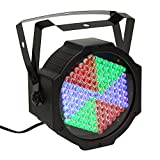 Stage Lights, SOLMORE DMX-512 RGB 127 Leds Par Lights DJ Lights Disco Party Light Projector Effect Light Background Stage Lighting Sound Activated for Wedding KTV Show Club Bar Xmas Decoration 25W