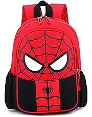 Spiderman Kinderrugzak, waterdichte 3D-tas, Super Hero 3D-rugzak, rugzak voor kinderen, kamperen, wandelen, schooltas