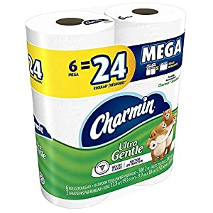 Ratings and reviews for Charmin Mega Rolls Ultra Gentle, 6 ea (Pack of 3)