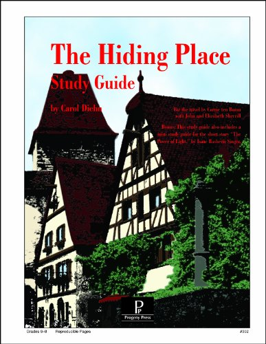 The Hiding Place Study Guide (Literature Study Guides from Progeny Press)