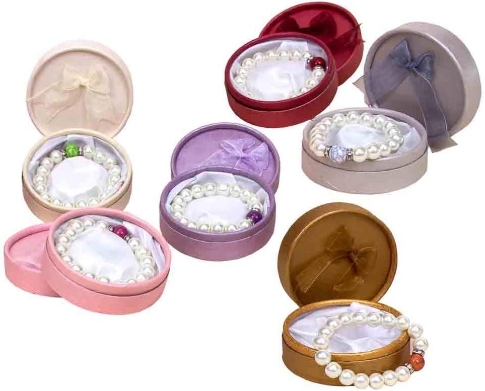 Lote de 10 Elegantes Pulseras de Perlas en Caja(Modelos Surtidos ...