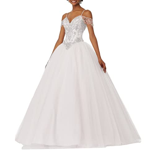 Quinceanera Dress White: Amazon.com