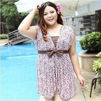 XL-übergewichtige Menschen kleiden einteilige Bikini-Badeanzug ,6XL2367-8