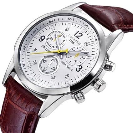Reloj de cuarzo hombres relojes Top Lujo Marca Famosa Muñeca Reloj macho reloj para hombres (