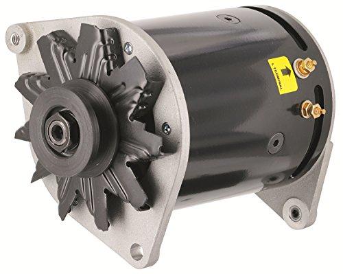 Powermaster Performance 82101-2 PowerGEN Alternator Swing Mount 90 Amp 65 Idle 12 Volt w/Lamp Terminal Black PowerGEN Alternator