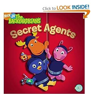 Secret Agents (Backyardigans (8x8)) Wendy Wax and Zina Saunders