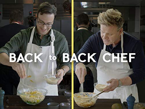 Gordon Ramsay Challenges Amateur Cook to Keep Up with Him ()