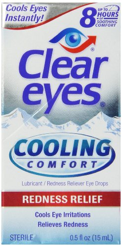 Yeux clairs refroidissement Comfort- Redness Relief, 0,5 once