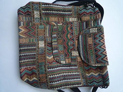 tienda pequeña Ariyas calidad mochila tejido de ligera tailandés mano algodón a qCfSPT
