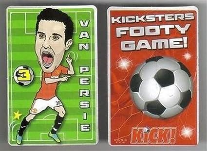 Kick Magazine Kicksters - Juego de Cartas de fútbol del ...