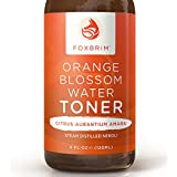 Orange Blossom Water Toner - 100% All-Natural Face Toner - Beautiful Floral Water - To Tone & Refresh Skin - Balance pH and Skin Moisture - Alcohol Free - Imported from Morocco - Renowned Neroli Distillate/Hydrosol - Perfect For A Complete Beauty Regimen - Amazing Guarantee