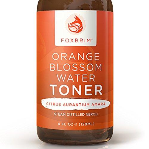 Orange Blossom Water Face Toner - 100% Natural Daily Facial Toner, Alcohol-Free for Sensitive Skin Acne and...