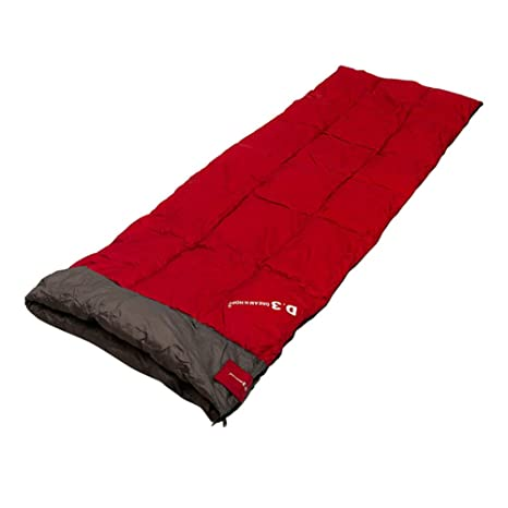 Kem] Rainbow Rectangular Tipo Saco de Dormir 100% plumón de oca, Grande Camping